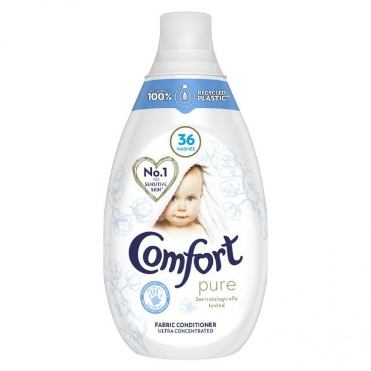 Comfort Pure Ultra Concentrated Fabric Conditioner 36 Washes