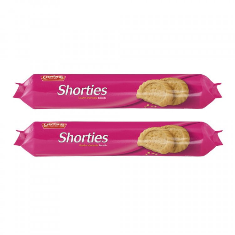 Crawfords Shorties Shortcake Biscuits 300g - 2 For £1