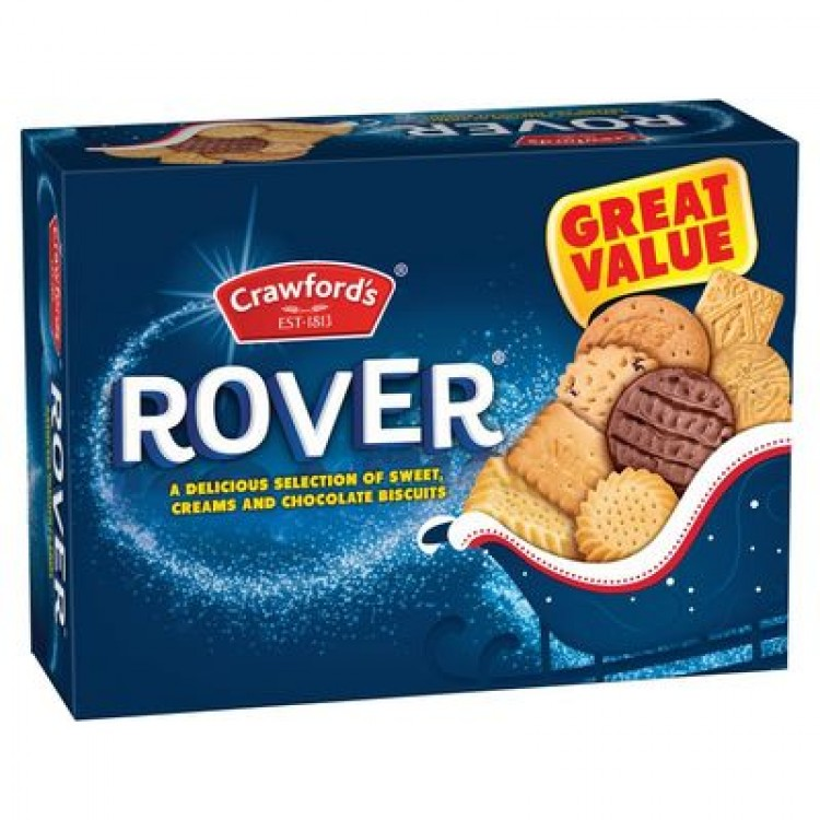 Crawford Rover Assorted Biscuits 650g