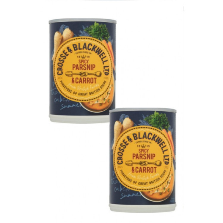 Crosse & Blackwell Spicy Parsnip & Carrot Soup 400g - 2 for £1