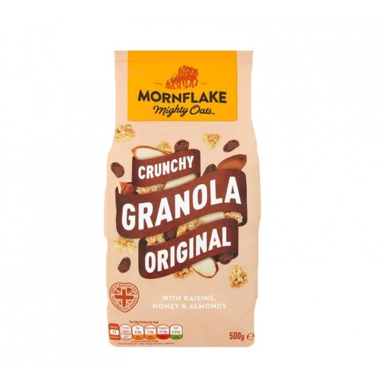 Crunchy Granola Original Raisins Honey Almonds Cereal 500g