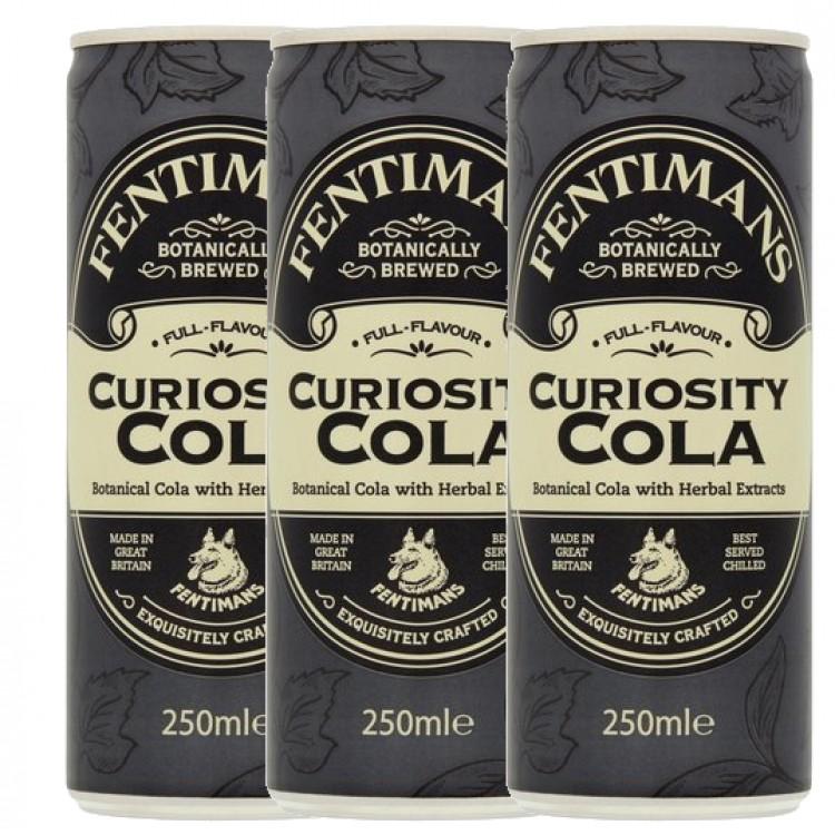 Fentimans Curiosity Cola 250ml - 3 For £1