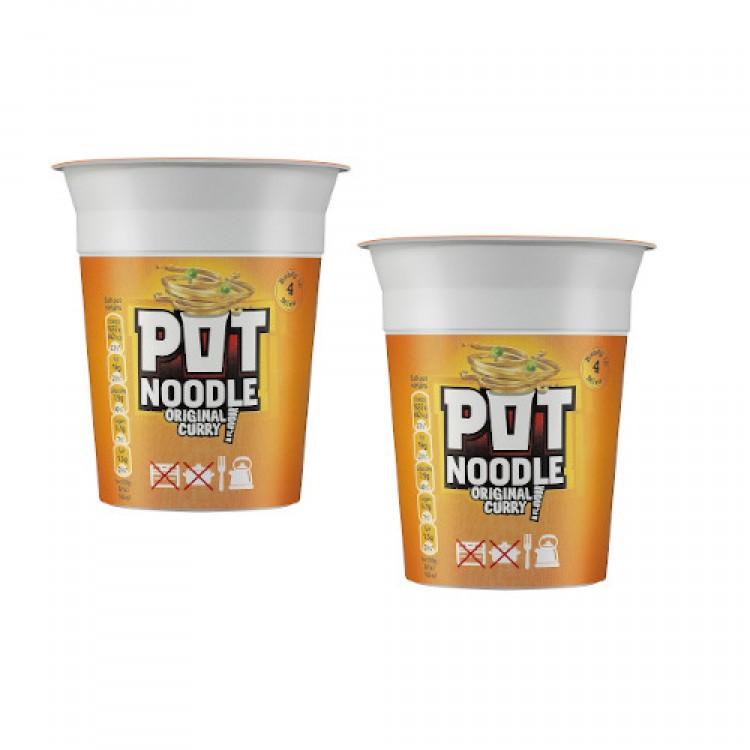 Pot Noodle Original Curry 90g - 2 For £1