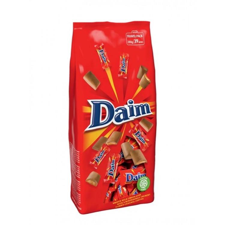 Daim Mini Bars Travel Pack 280g