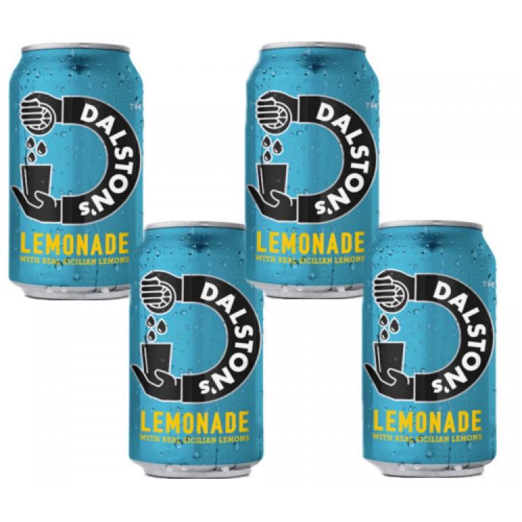 Daltons Lemonade 330ml Can - 4 For £1