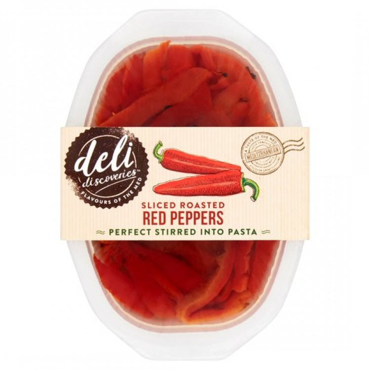 Deli Ready To Eat Slice Roasted Red Peppers 120g