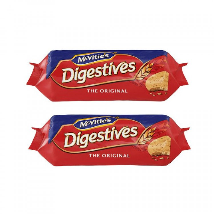 McVities Digestive Original Biscuits 250g - 2 For £1