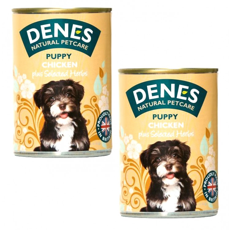 Denes Puppy Chicken with Selected Herbs - 2 For £1.50