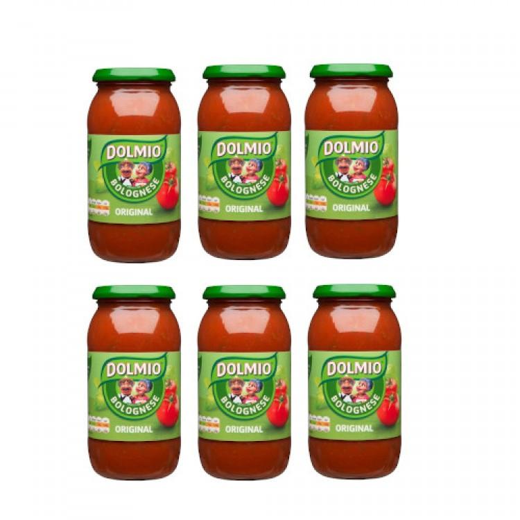 Dolmio Original Bolognese Sauce 500gx 6 CASE PRICE