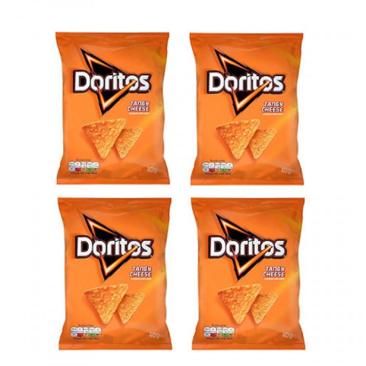 Doritos Tangy Cheese 40g - 4 For £1