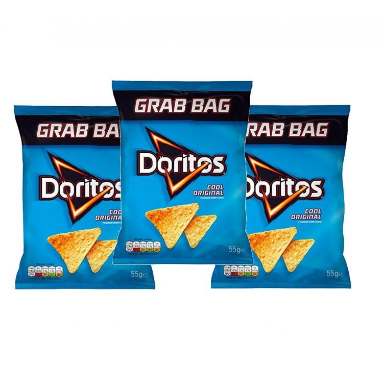 Doritos Cool Original Grab Bag 55g - 3 For £1