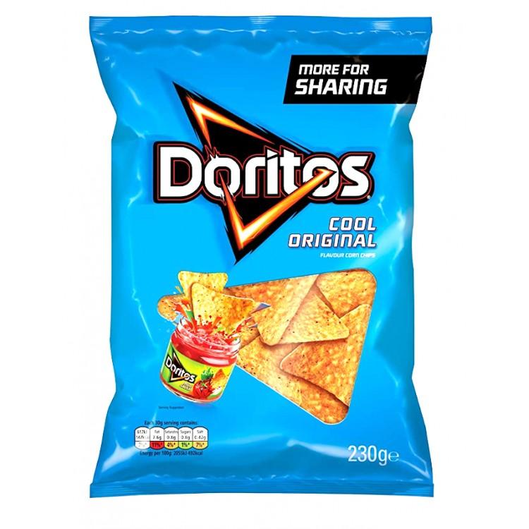 Doritos Cool Original Flavour Corn Chips BIG BAG - 230g