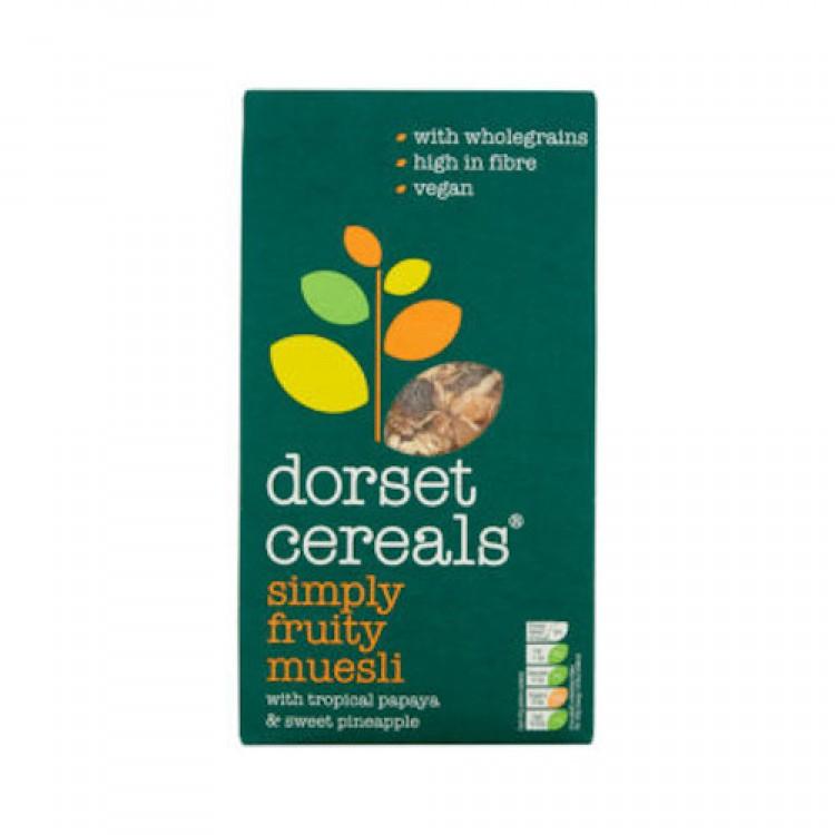 Dorset Simply Fruity Muesli 630g