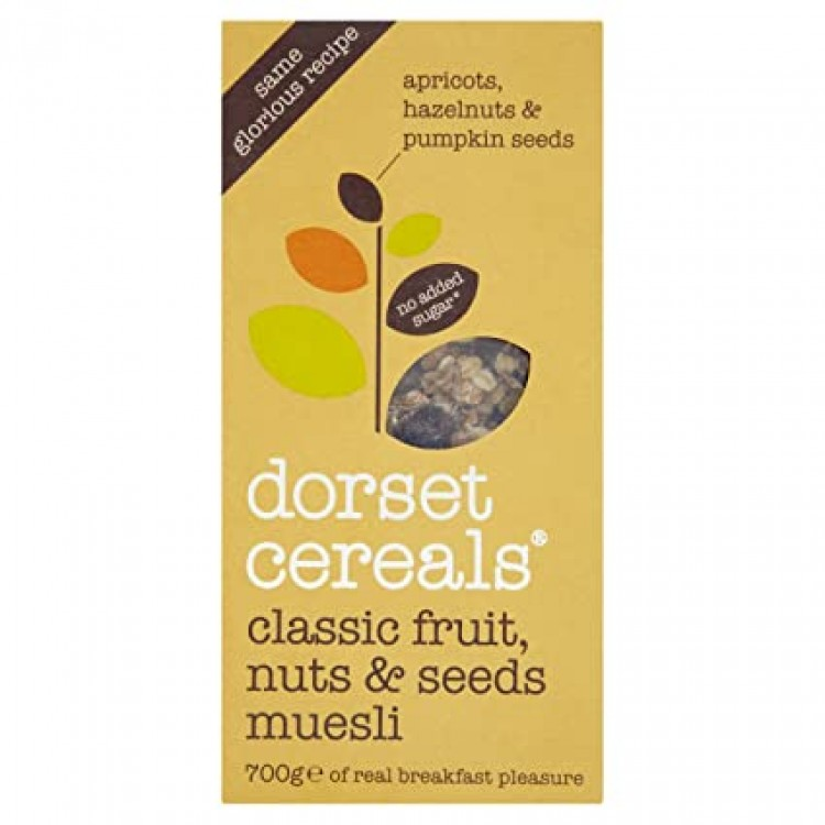 Dorset Classic Fruit Nuts & Seeds Muesli 700g