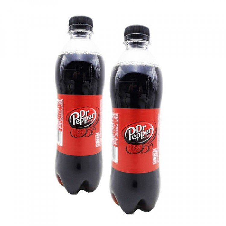 Dr Pepper Soft Drink 450ml - 2 For £1.50