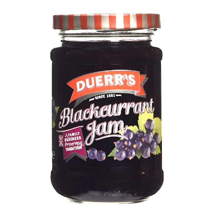 Duerrs Blackcurrant Jam 340g