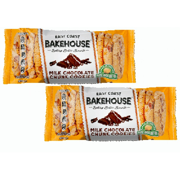 Bakehouse Milk Chocolate Chunk Cookies 160g 2 For £1