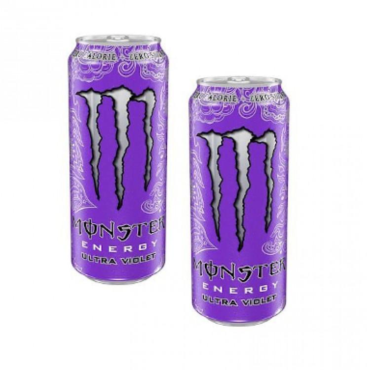Monster Energy Ultra Violet 500g - 2 For £1