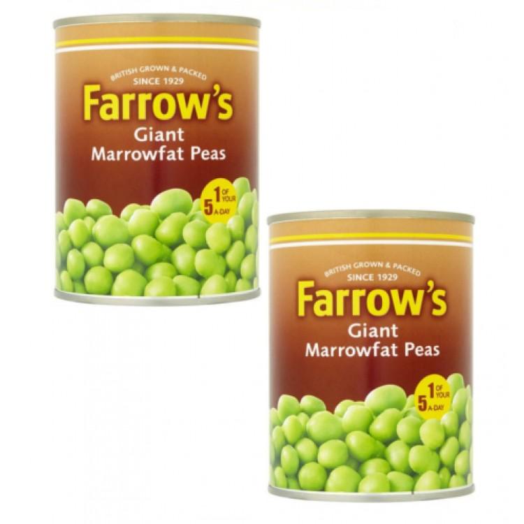 Farrows Giant Marrowfat Peas 538g 2 for £1