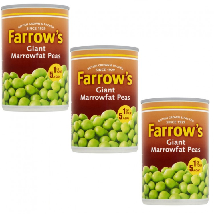 Farrows Giant Marrowfat Peas 300g - 3 for £1