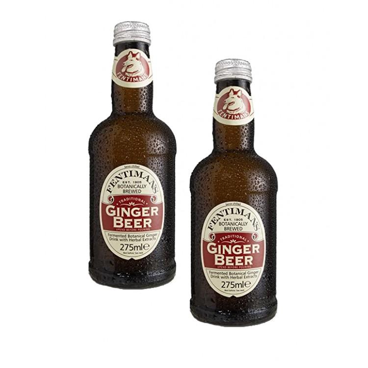 Fentimans Ginger Beer Glass Bottle 275ml - 2 For £1