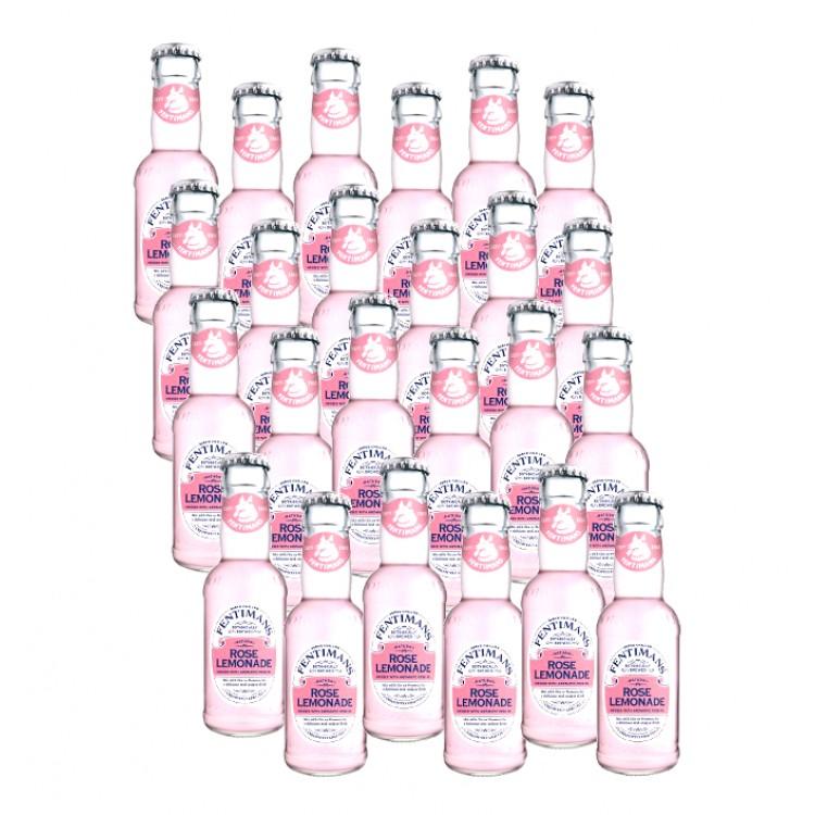 Fentimans Rose Lemonade Glass Bottle 125ml x 24 CASE PRICE