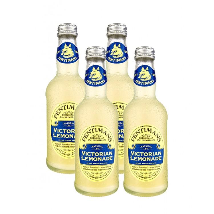 Fentimans Victorian Lemonade 275ml 4pk