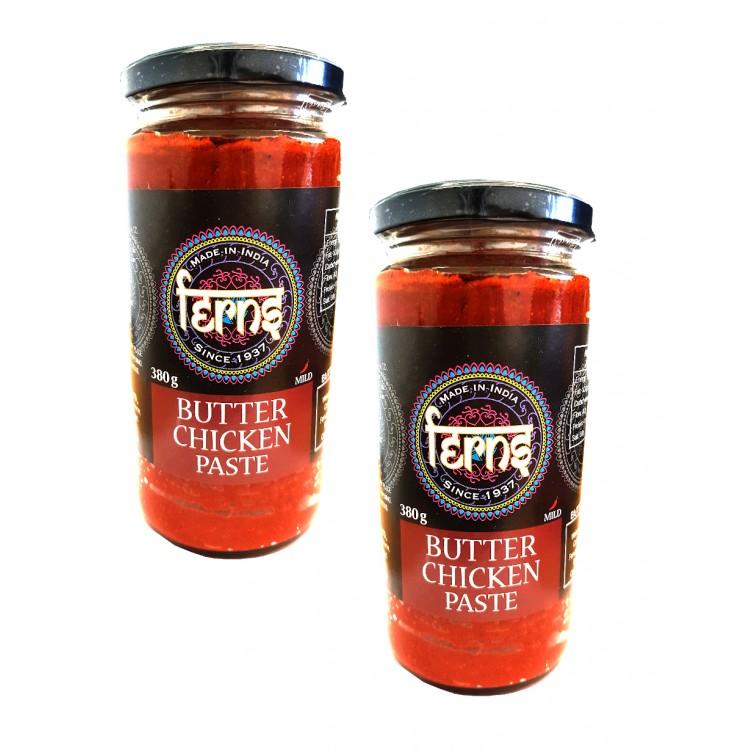Ferns Butter Chicken Curry Paste Jar 380g 2 For £1.50