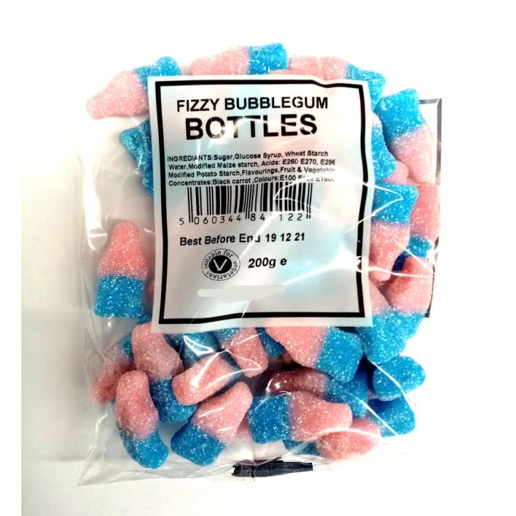 Fizzy Bubblegum Bottles 200g