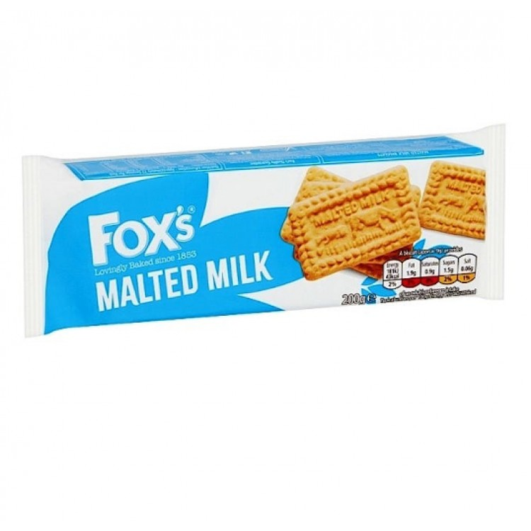 Foxes Malted Milk Biscuits 200g