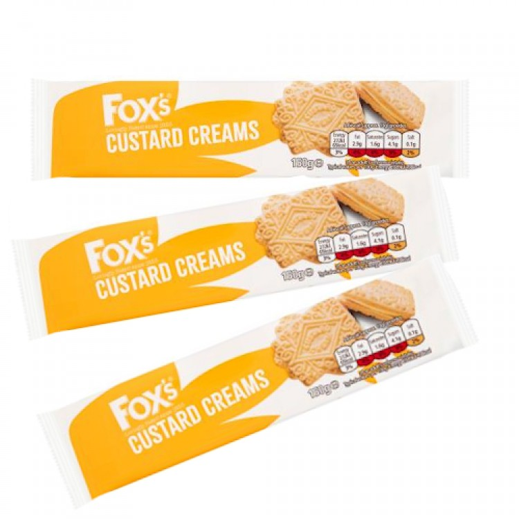 Foxs Custard Creams 150g - 3 For £1