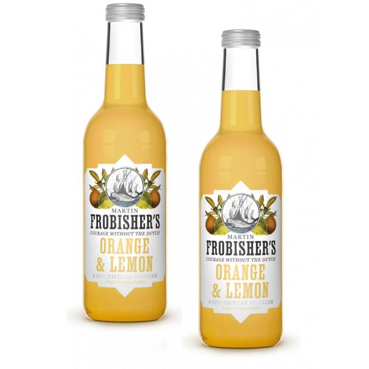 Frobishers Orange & Lemon Glass Bottled Drink 330ml - 2 For £1