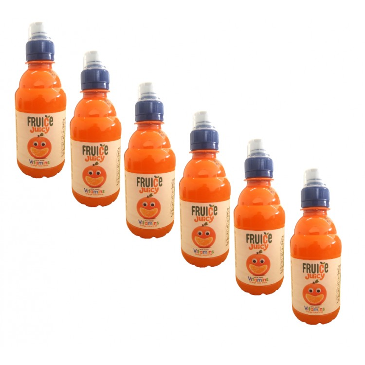 Fruice Juicy Kids Orange Juice Drink - 6 For £1