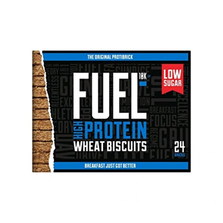 Fuel10k High Protein Wheat Biscuit 24