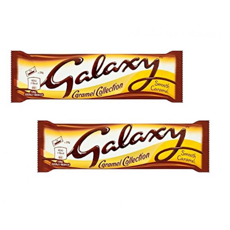 Galaxy Smooth Caramel 48g - 2 For £1
