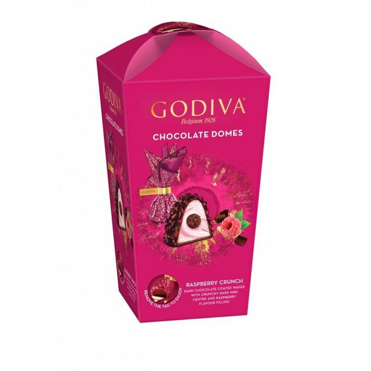 Godiva Raspberry Domes Chocolate 150g