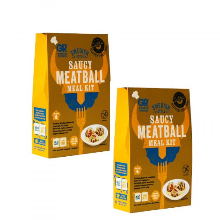 Gordon Rhodes Swedish Style Saucy Meatball Kit - 2 For £1