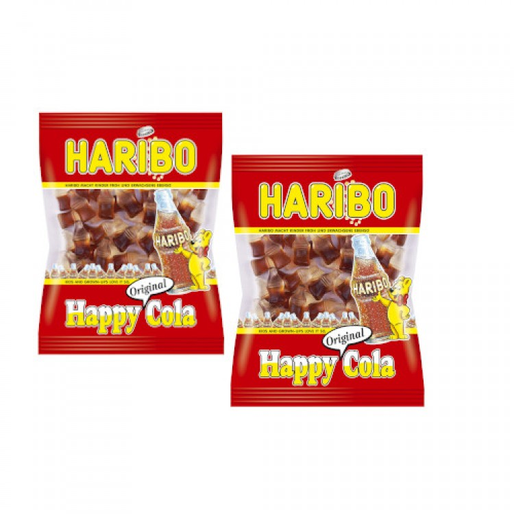 Haribo Happy Cola Bottle Sweets 100g - 2 For £1