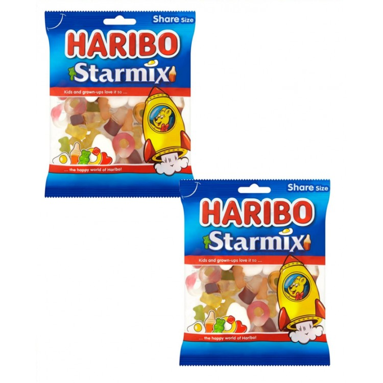 Haribo Starmix Large Bag 180g - 2 for £1.50