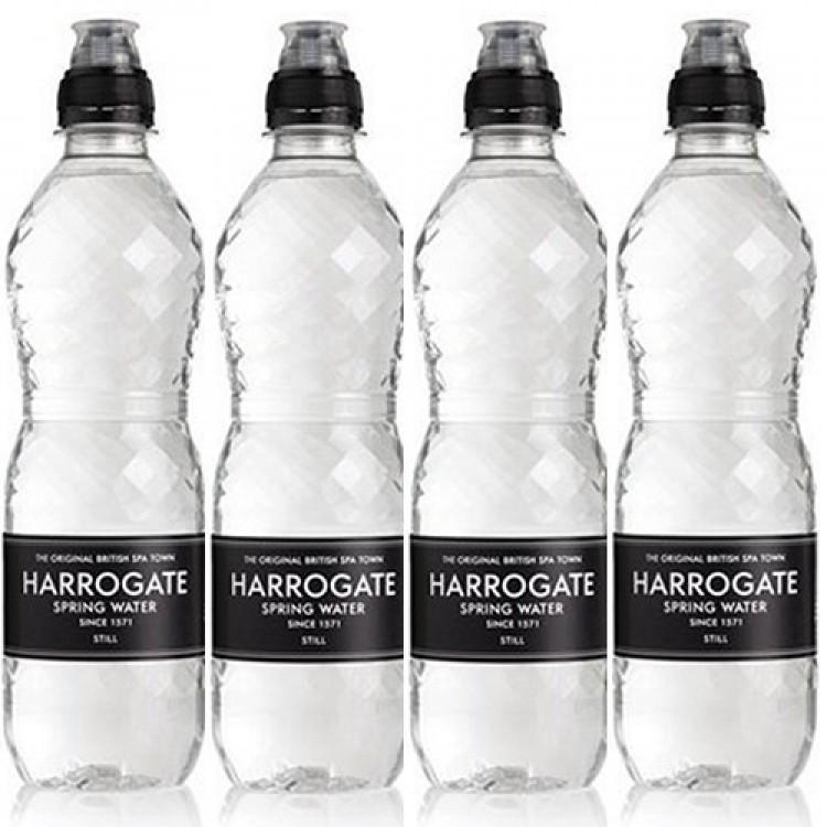 Harrogate Still Spring Water 500ml - 4 for £1