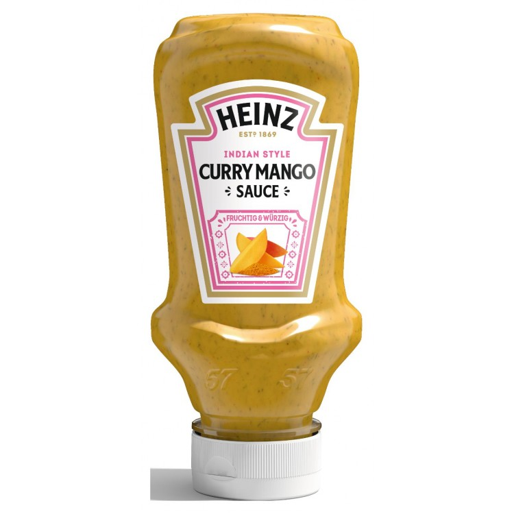 Heinz Curry Mango Sauce 220ml - 2 For £1