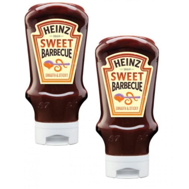 Heinz Sweet BBQ Sauce 500g - 2 For £1