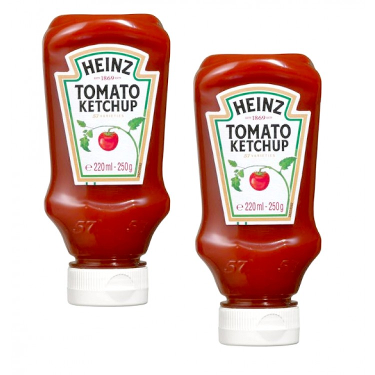 Heinz Tomato Ketchup 220g - 2 For £1
