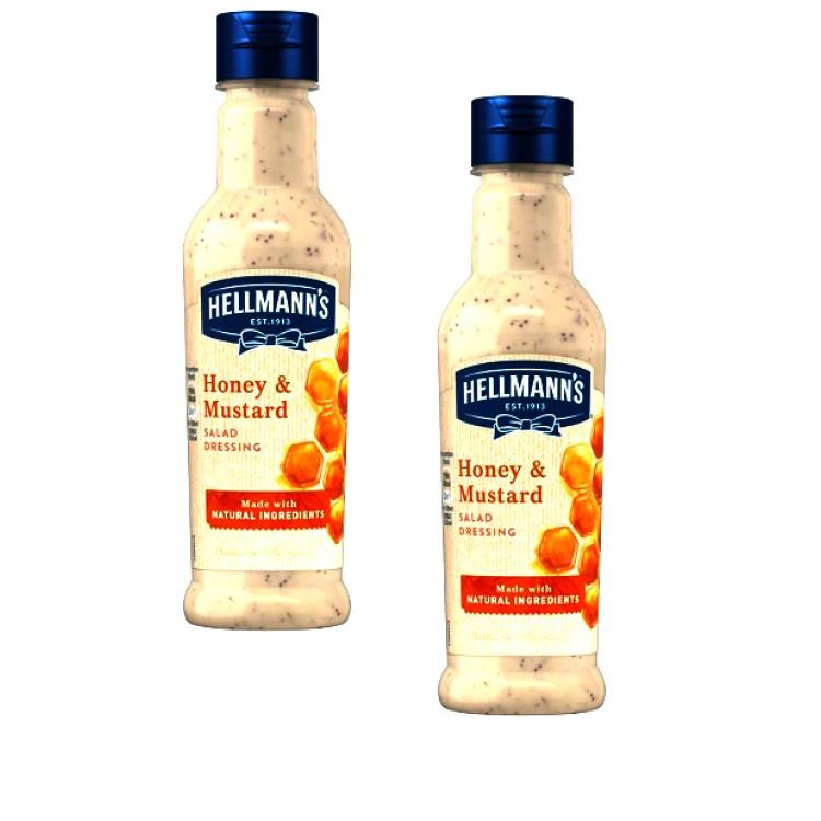Hellmans Honey & Mustard Sauce 210ml - 2 For £1