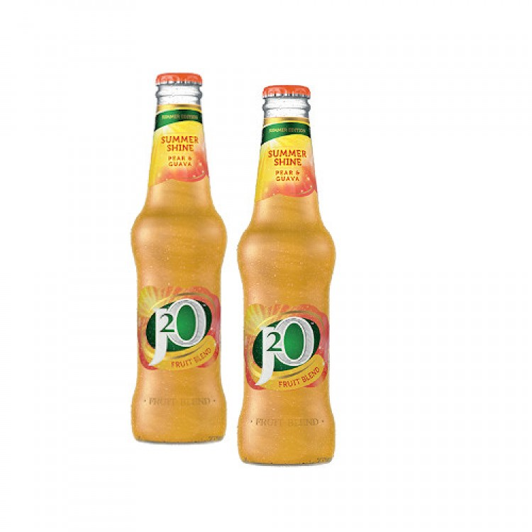 J2O Summer Shine Pear & Guava Bottle 275ml - 2 For £1