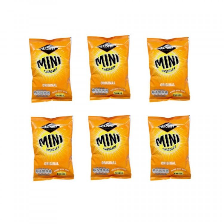 Jacobs Mini Cheddars Original 35g - 6 For £1