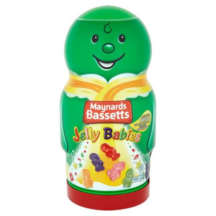 Maynards Bassetts Jelly Babies Novelty Jar 459g