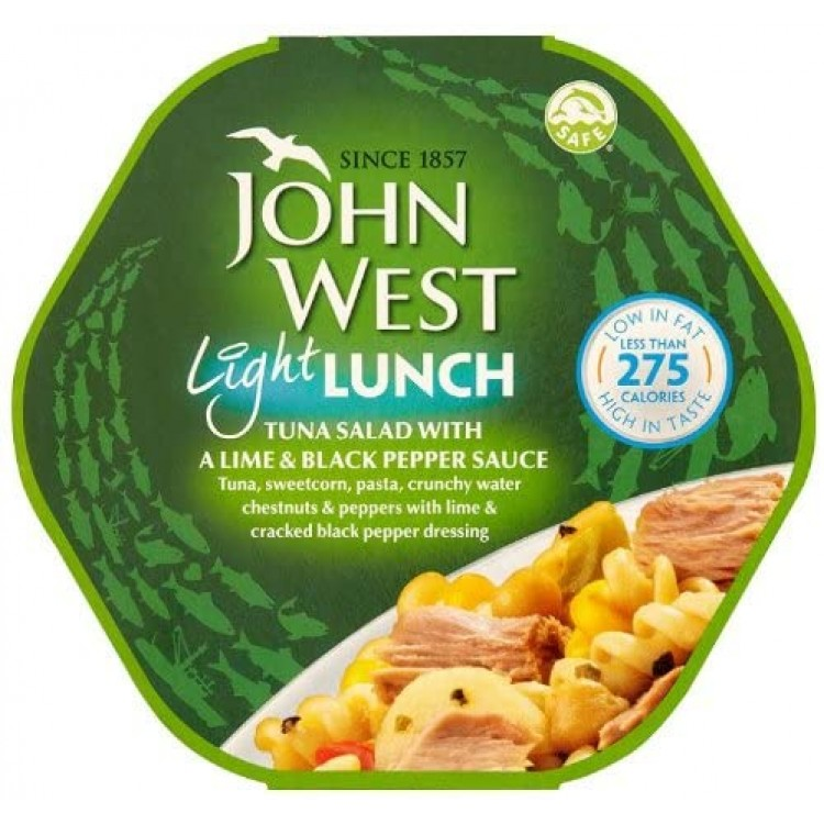 John West Lunch on the Go Tuna Lime & Black Pepper Salad