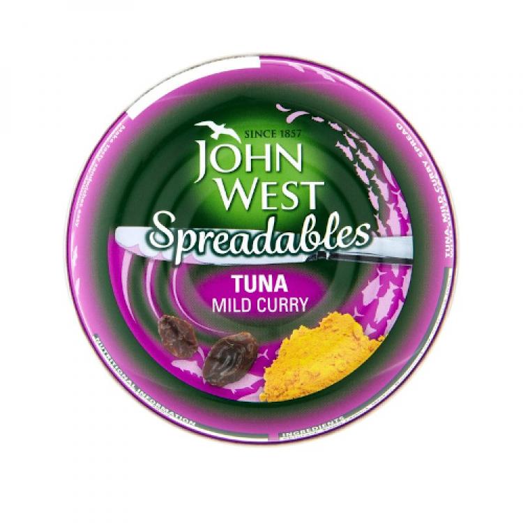 John West Curry Tuna Sandwich Spread 80g