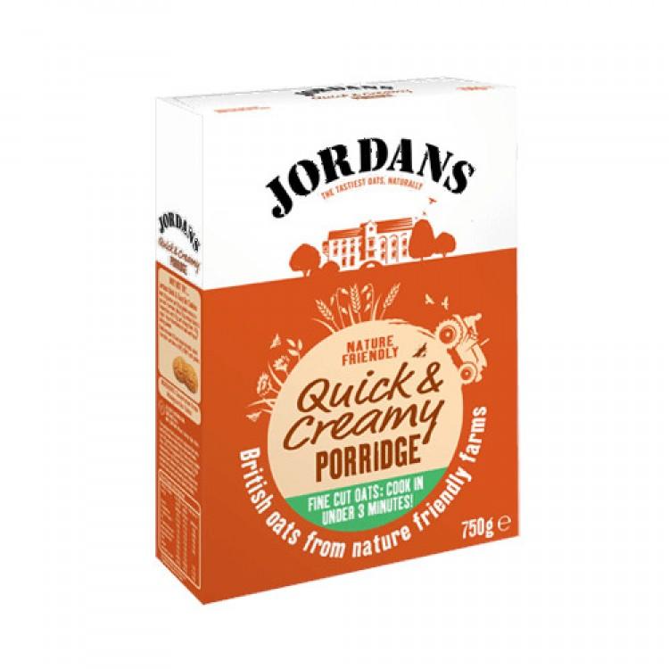 Jordans Quick & Creamy Porridge 750g